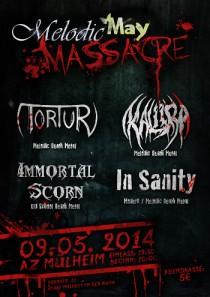 melodic may massacre