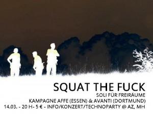 squat the fuck